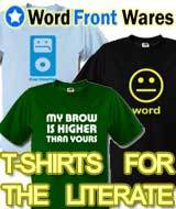 Word Front Wares: T-Shirts and More